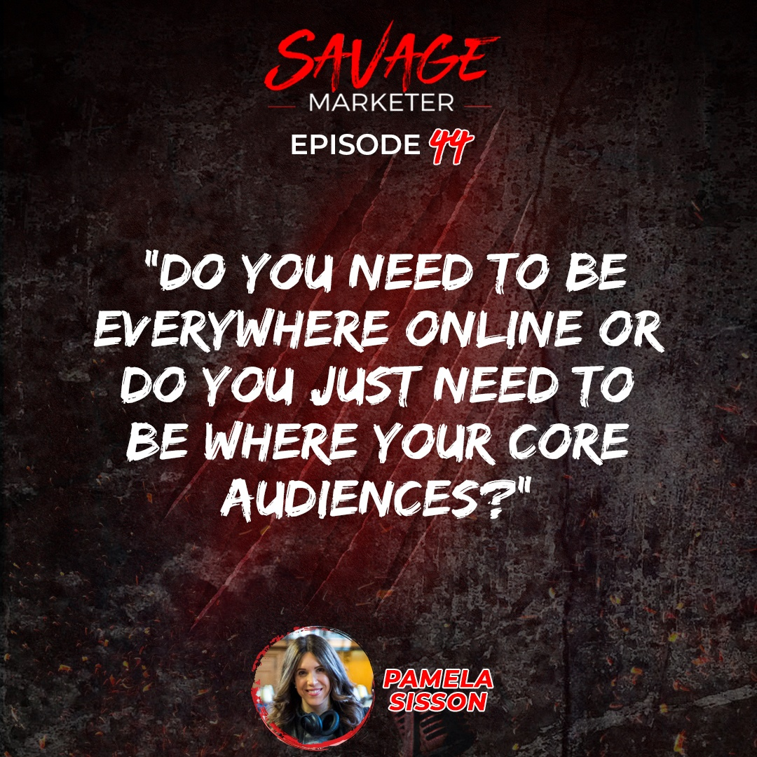Savage Marketer Spotlight: Getting Attention Online with Pamela Sisson